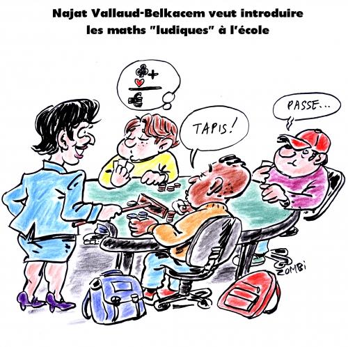 webzine,bd,gratuit,zébra,fanzine,bande-dessinée,satirique,caricature,najat vallaud-belkacem,maths ludiques,école,dessin,presse,editorial cartoon,zombi