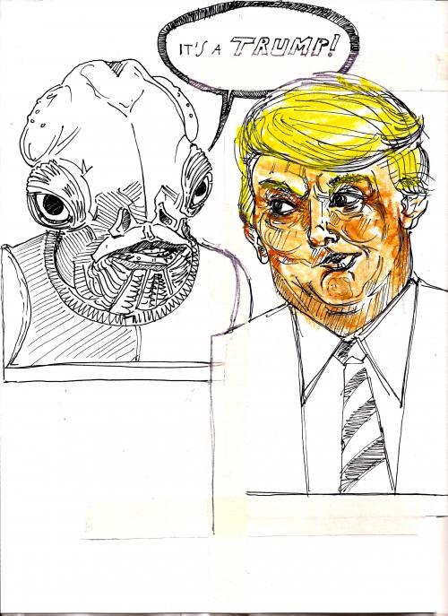 webzine,bd,zebra,gratuit,fanzine,trump,armando genco,caricature,satirique