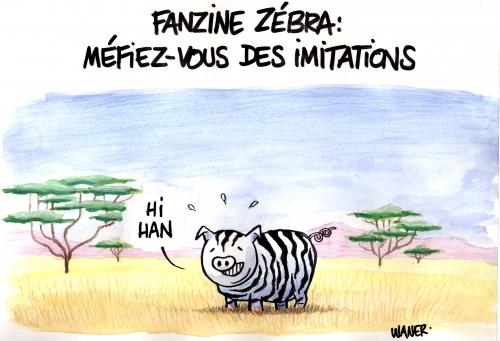 webzine,bd,zébra,fanzine,gratuit,bande-dessinée,caricature,waner,pub