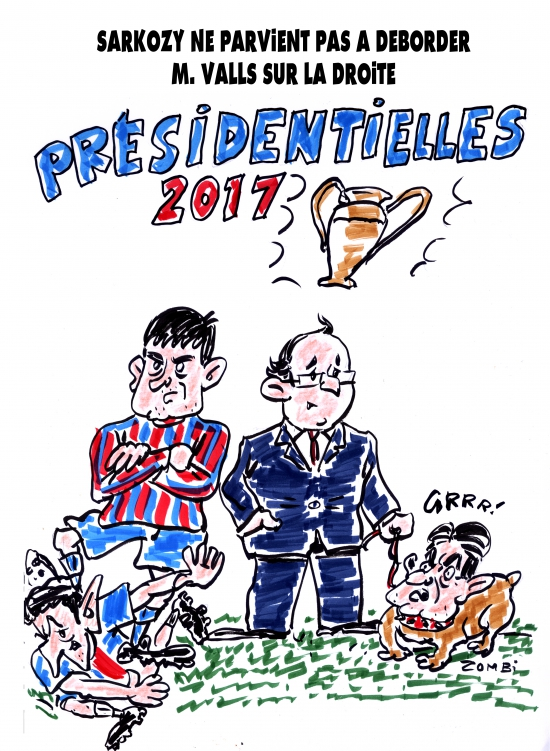 webzine,bd,zébra,gratuit,fanzine,bande-dessinée,caricature,manuel valls,nicolas sarkozy,françois hollande,mélenchon,barça,présidentielle,2017,dessin,presse,satirique,editorial cartoon,zombi