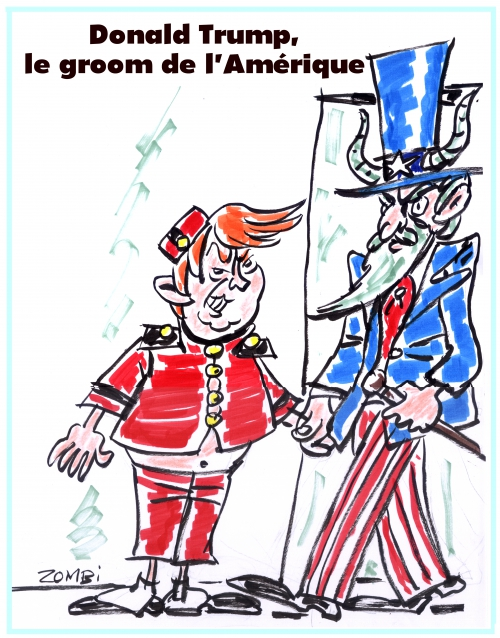 webzine,bd,zébra,gratuit,fanzine,bande-dessinée,caricature,donald trump,groom,amérique,oncle sam,diable,spirou,dessin,presse,editorial cartoon,satirique,zombi