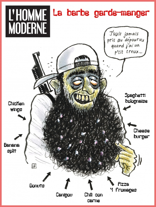webzine,bd,zébra,gratuit,fanzine,bande-dessinée,caricature,barbu,djihadiste,lb,dessin,presse,satirique,editorial cartoon,lb