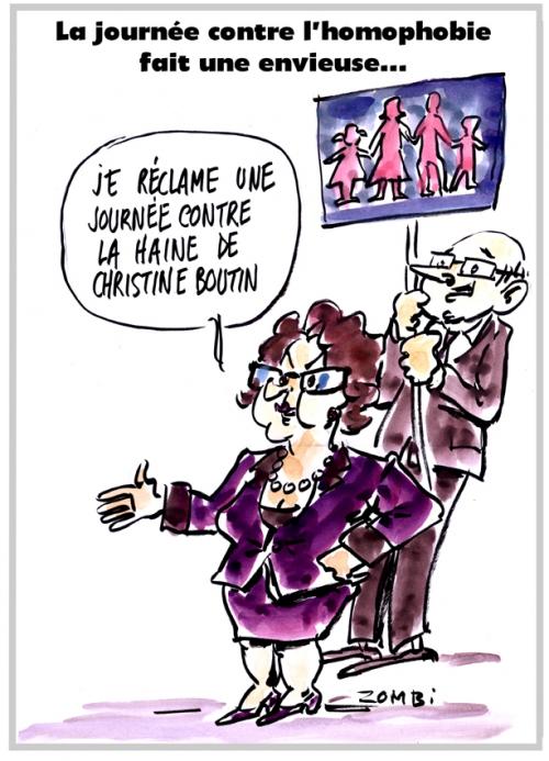 webzine,bd,zébra,fanzine,gratuit,bande-dessinée,caricature,christine boutin,homophobie,journée,dessin,presse,satirique,editorial cartoon,zombi