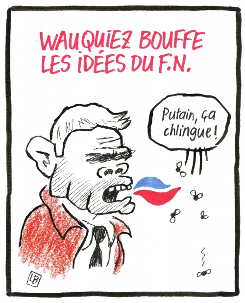 webzine,bd,gratuit,zébra,fanzine,bande-dessinée,caricature,laurent wauquiez,fn,ump,dessin,presse,satirique,editorial cartoon,énigmatique lb