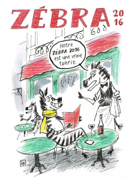 fanzine,zébra,2016,bd,caricature,bande-dessinée,énigmatique lb,aurélie dekeyser,naumasq,zombi