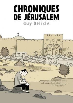 fanzine,bd,zébra,critique,bd,guy delisle,chroniques de jerusalem,delcourt