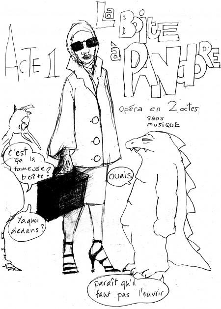 fanzine,zébra,illustration,bd,bande-dessinée,louise asherson,pandore,pandora,mythe,big-bang
