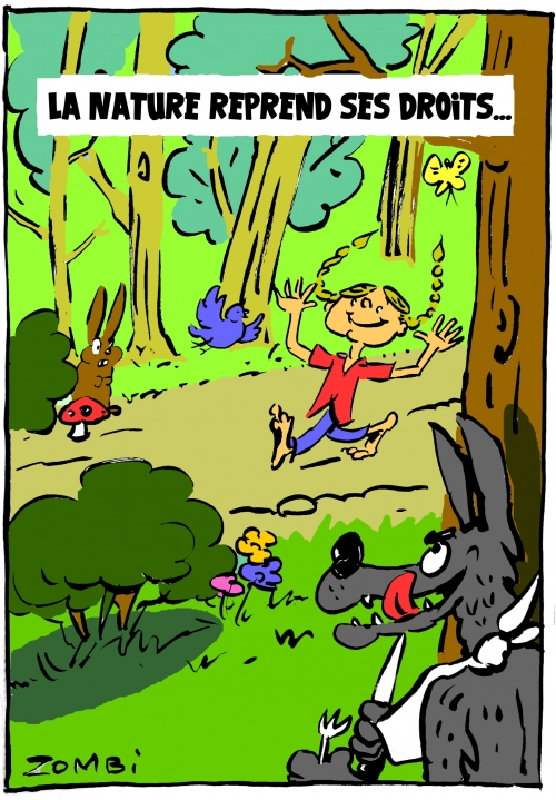 webzine,bd,zébra,gratuit,fanzine,bande-dessinée,caricature,greta thunberg,confinement,écologie,nature,coronavirus,covid19,dessin,presse,satirique,editorial cartoon,zombi