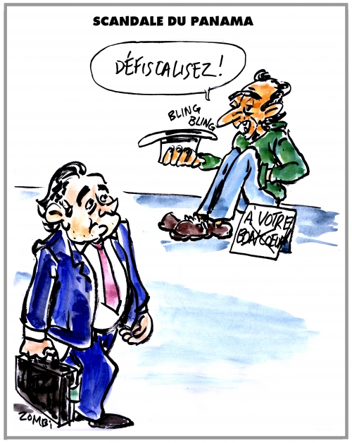 webzine,bd,zébra,fanzine,gratuit,bande-dessinée,caricature,panama,scandale,off-shore,dessin,presse,satirique,editorial cartoon,zombi