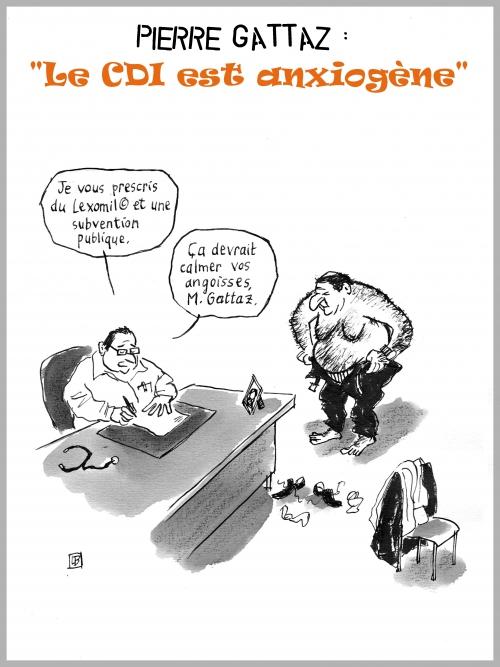 webzine,bd,zébra,gratuit,fanzine,bande-dessinée,caricature,gattaz,cdi,hollande,anxiogène,satirique,dessin,presse,editorial cartoon,lb