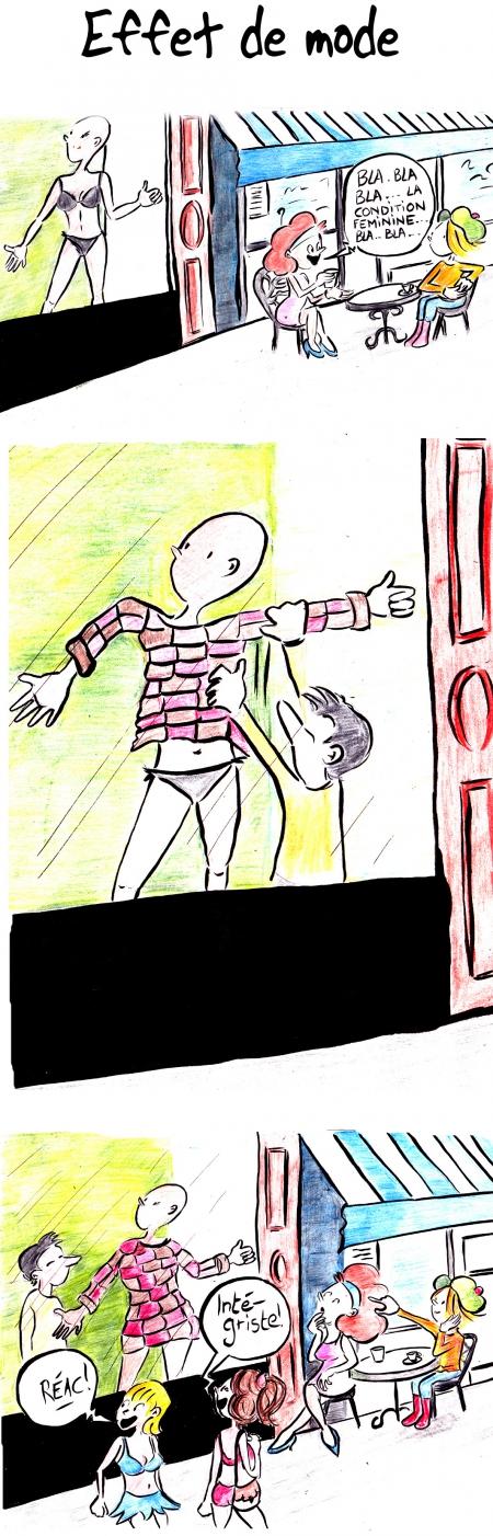 webzine,bd,gratuit,zébra,bande-dessinée,fanzine,strip,lola,aurélie dekeyser,mode,féminisme,humour,gag