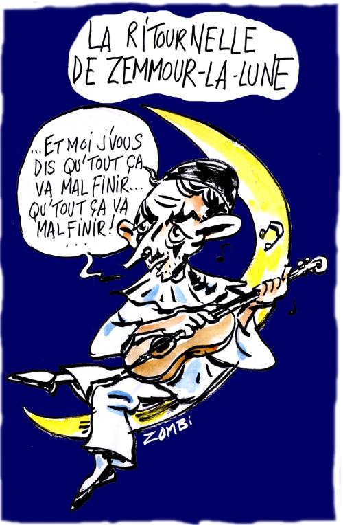 webzine,bd,zébra,fanzine,gratuit,bande-dessinée,caricature,eric zemmour,pierrot-la-lune,ritournelle,dessin,presse,satirique,editorial cartoon,zombi
