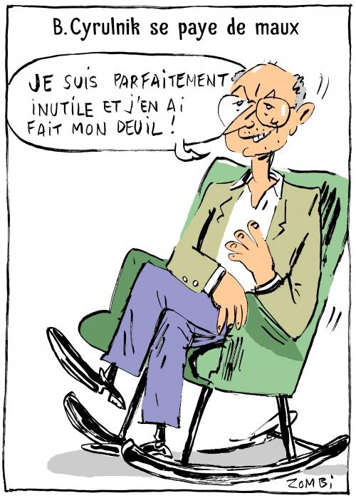 caricature,bd,zébra,gratuit,fanzine,bande-dessinée,webzine,boris cyrulnik,psy,dessin,presse,satirique,zombi