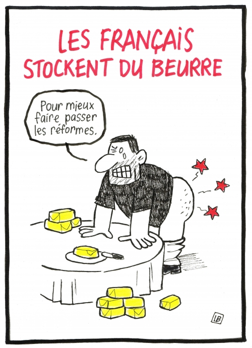webzine,bd,zébra,gratuit,fanzine,bande-dessinée,caricature,beurre,pénurie,dessin,presse,satirique,editorial cartoon,énigmatique lb