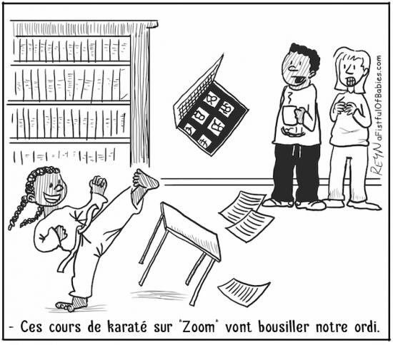 webzine,bd,zébra,fanzine,gratuit,bande-dessinée,comic-strip,reyn,afistfulofbabies.com,zoom,karaté,école,cours,ordinateur,humour,gag