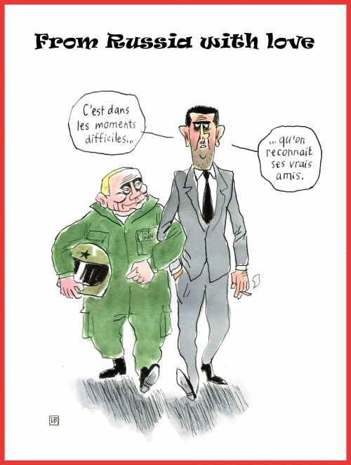 webzine,bd,gratuit,fanzine,bande-dessinée,caricature,poutine,bachar-el-assad,dessin,presse,syrie,satirique,editorial cartoon