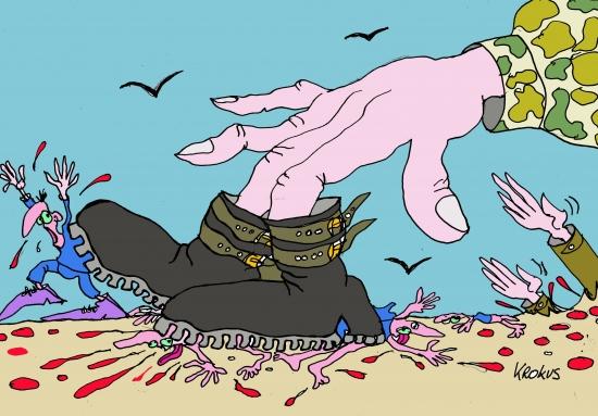 webzine,bd,gratuit,zébra,fanzine,bande-dessinée,caricature,krokus,dessin,presse,dictature