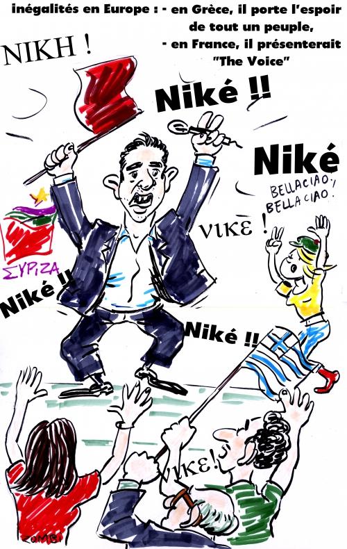 webzine,bd,gratuit,zébra,fanzine,bande-dessinée,caricature,alexis tsipras,syriza,élections législatives,grèce,dessin,presse,satirique,editorial cartoon,zombi