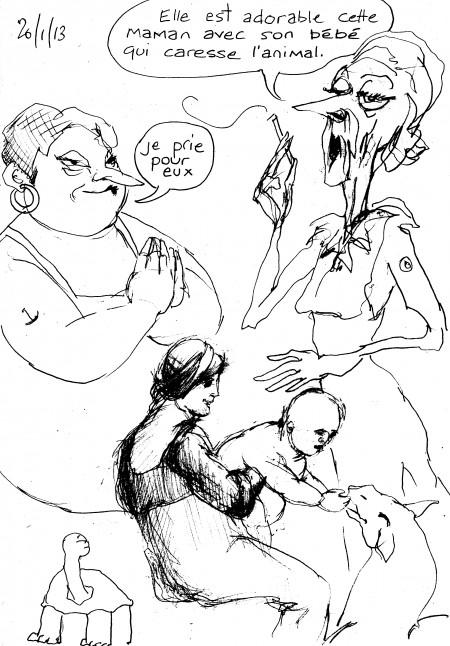 bd,bande-dessinée,illustration,louise asherson,enfant,mère,carnet,dessin,croquis,2013