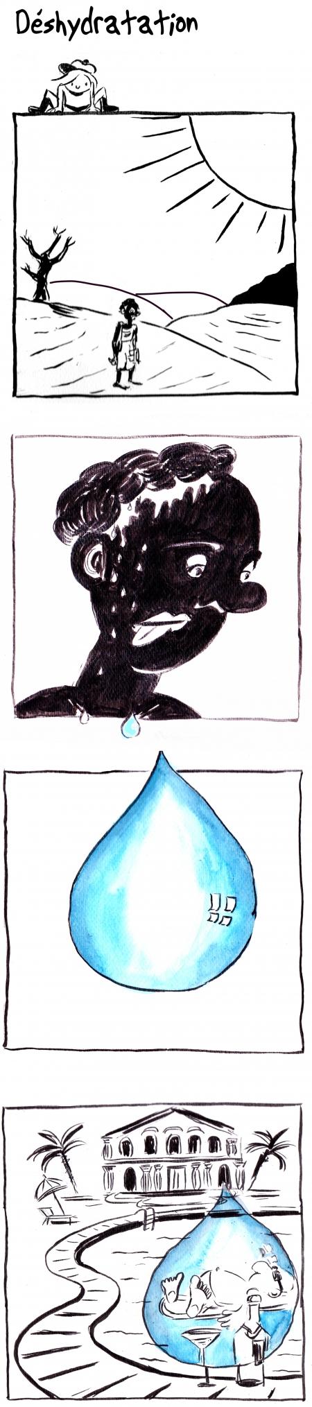 webzine,bd,gratuit,zébra,bande-dessinée,fanzine,strip,lola,aurélie dekeyser,famine,afrique,soif,canicule,pénurie,eau
