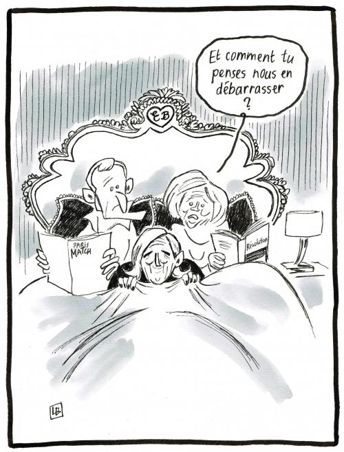 webzine,bd,zébra,gratuit,fanzine,bande-dessinée,caricature,emmanuel macron,brigitte,marine lepen,énigmatique lb,dessin,presse,satirique,législatives,editorial cartoon