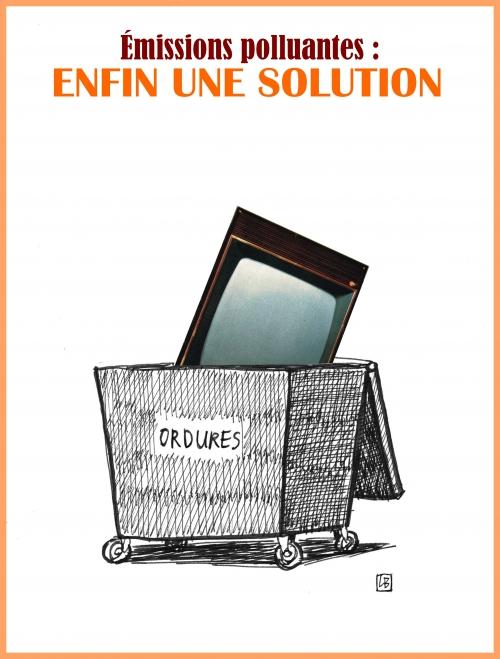 webzine,bd,gratuit,zébra,fanzine,bande-dessinée,caricature,télévision,poubelle,dessin,presse,editorial cartoon,satirique,lb