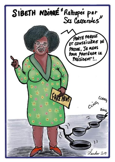 webzine,bd,zébra,fanzine,gratuit,bande-dessinée,caricature,sibeth ndiaye,laouber,satirique,editorial cartoon
