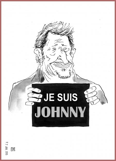 webzine,zébra,gratuit,fanzine,bande-dessinée,caricature,johnny hallyday,je suis charlie,dessin,presse,satirique,editorial cartoon,lb