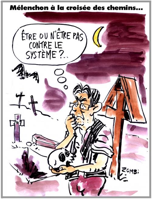 webzine,zébra,gratuit,fanzine,bande-dessinée,caricature,jean-luc mélenchon,présidentielle,2017,hamlet,égalité,dessin,presse,satirique,editorial cartoon,zombi