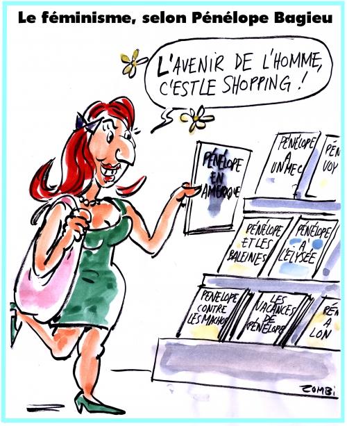webzine,bd,zébra,gratuit,fanzine,bande-dessinée,caricature,pénélope bagieu,féminisme,shopping,satirique
