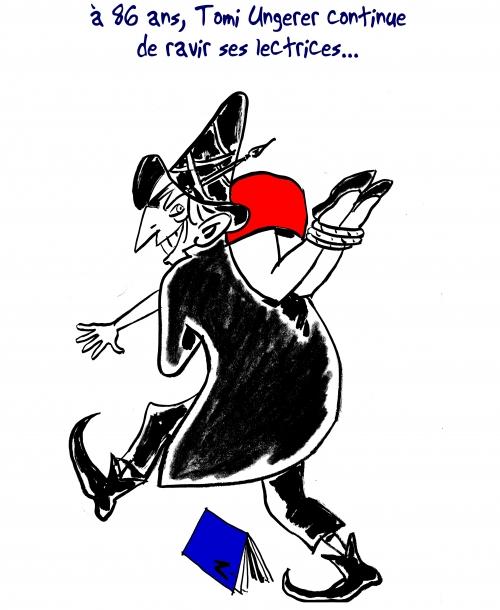 webzine,bd,zébra,gratuit,caricature,fanzine,bande-dessinée,caricature,tomi ungerer,anniversaire,hommage,brigand,dessin,presse,satirique,editorial cartoon,zombi