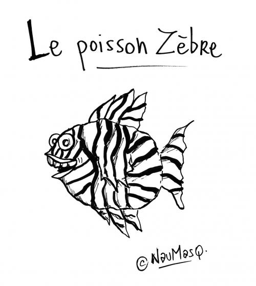 webzine,bd,zébra,fanzine,gratuit,bande-dessinée,naumasq,gag,humour,poisson-zèbre