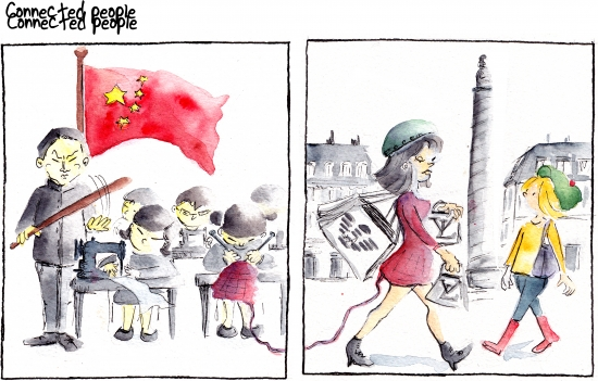 webzine,bd,gratuit,zébra,bande-dessinée,fanzine,strip,lola,aurélie dekeyser,made in china,esclavage,mode,shopping,place vendôme