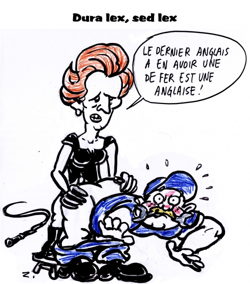 webzine,bd,gratuit,zébra,fanzine,bande-dessinée,caricature,margaret thatcher,satirique,zombi,editorial cartoon,dessin,presse