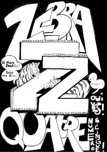 Louise asherson,fanzine,bande dessinée,bd,zebra,couverture