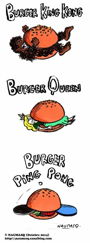 webzine,zébra,gratuit,bd,bande-dessinée,fanzine,gag,naumasq,burger king,france,alésia,saint-lazare,dessin,humour,strip
