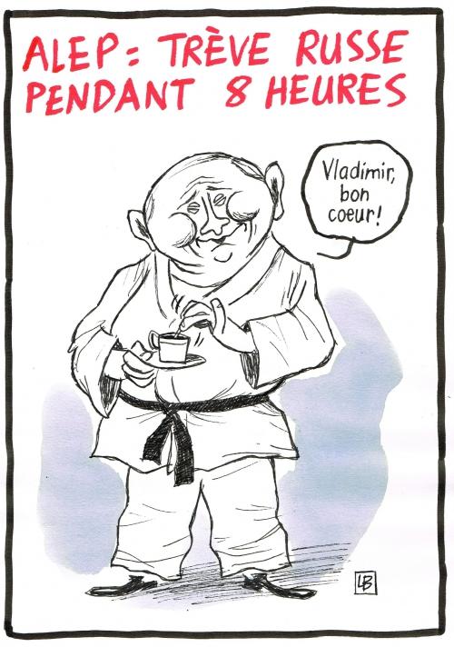 webzine,bd,zébra,fanzine,bande-dessinée,caricature,vladimir poutine,alep,trêve,syrie,bombardement,dessin,presse,satirique,editorial cartoon,énigmatique lb