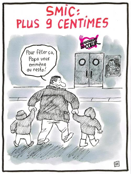 webzine,bd,zébra,fanzine,gratuit,bande-dessinée,caricature,smic,hausse,dessin,presse,editorial cartoon,énigmatique lb