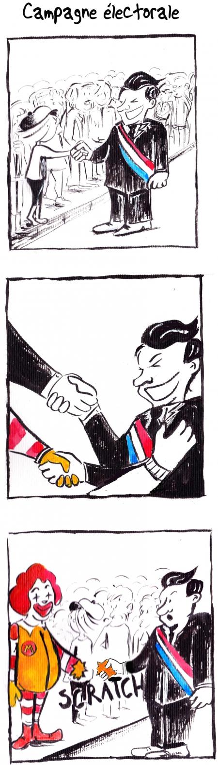 webzine,bd,gratuit,zébra,bande-dessinée,fanzine,strip,lola,aurélie dekeyser,clown,politicien,ronald mac donald,humour,satirique