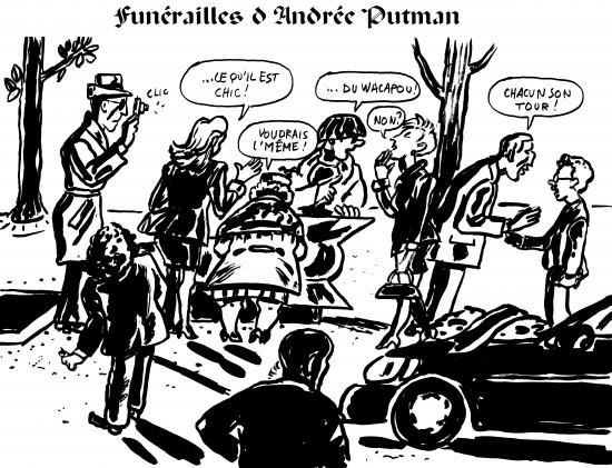 fanzine,bd,bande-dessinée,zébra,illustration,caricature,humour,satirique,andrée putman,designer,funérailles,zombi