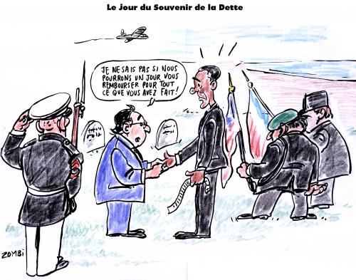 webzine,gratuit,zébra,bd,fanzine,bande-dessinée,satirique,caricature,memorial day,bnp,barack obama,françois hollande,argent,amende
