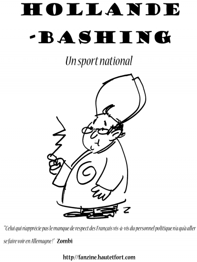 webzine,gratuit,bd,zébra,fanzine,caricature,dessin,presse,hollande-bashing,8 pages comics,editorial cartoon,zombi