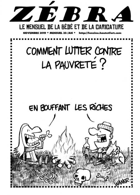 webzine,bd,gratuit,zébra,fanzine,bande-dessinée,pdf,mensuel,caricature,waner,zombi,lb,reyn,novembre,2019,dessin,presse,satirique