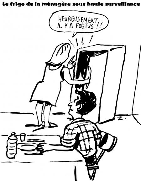 webzine,gratuit,bd,zébra,fanzine,bande-dessinée,satirique,humour,dessin,foetus,zombi,caricature,frigo