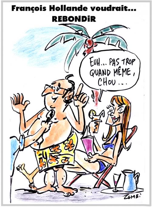 webzine,bd,zébra,fanzine,gratuit,bande-dessinée,caricature,françois hollande,julie gayet,vacances,2017,dessin,presse,satirique,editorial cartoon,zombi