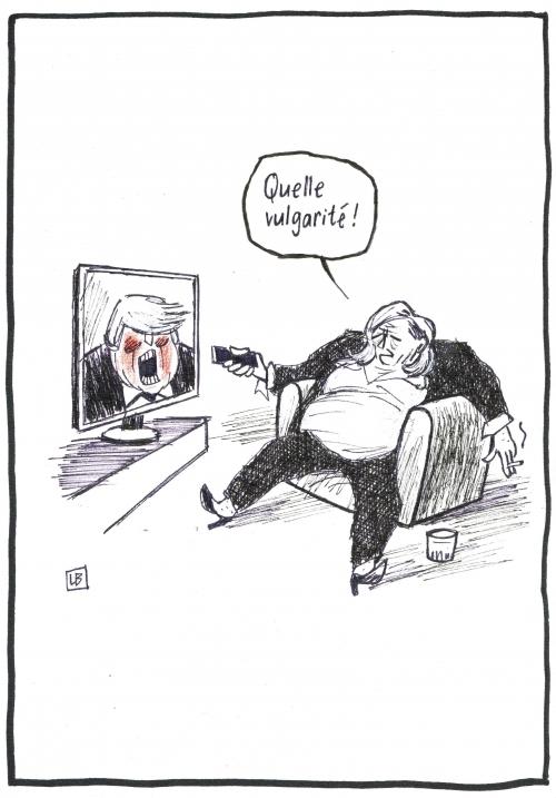 webzine,zébra,fanzine,bd,gratuit,bande-dessinée,caricature,marine le pen,vulgarité,donald trump,télévision,politique,dessin,presse,editorial cartoon,satirique,lb