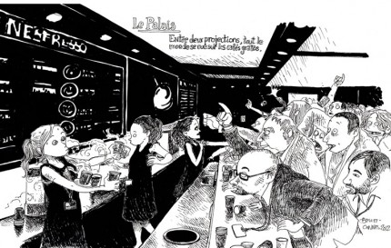 fanzine,zébra,bd,revue de presse,bande-dessinée,illustration,boulet,festival de cannes,dessin de presse,strip,olivier mimran,françois forcadell,iconovox,nine antico,florence foresti,platipus,six pieds sous terre,glénat