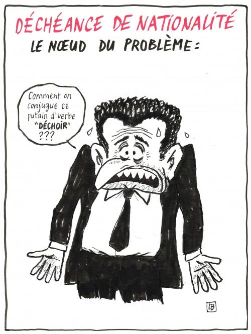 webzine,bd,zébra,fanzine,gratuit,bande-dessinée,caricature,nicolas sarkozy,déchoir,conjugaison,déchéance,nationalité,dessin,presse,satirique,editorial cartoon
