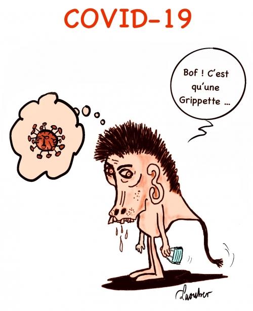 webzine,bd,zébra,gratuit,fanzine,bande-dessinée,caricature,coronavirus,épidémie,grippette,satirique,laouber,dessin