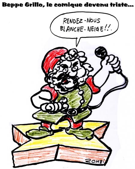 webzine,zébra,bd,gratuit,bande-dessinée,caricature,beppe grillo,italie,comique,humour,dessin,presse